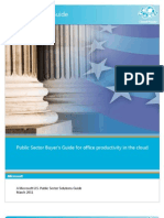 Office 365 Public Sector Buyers Guide