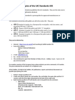 How to Obtain Copies of the Uic Standards 435