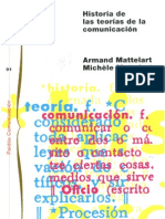 Mattelart, Armand & Michele - Historia de Las Teorias de La Comunicacion (CV)