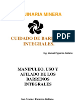 Cuidado de Barrenos Integrales