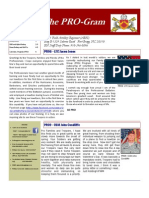 The PRO-Gram Volume 1, Issue 3, February 2013, FINAL 0800 8 MAR 13
