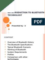 bluetooth info