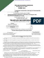 TELEFLEX INC 10-K (Annual Reports) 2009-02-25