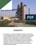 Cemento Aglomerante 2012 II