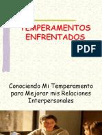 TEMPERAMENTOS ENFRENTADOS