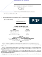 FLUOR CORP 10-K (Annual Reports) 2009-02-25