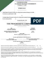PROGRESSIVE CORP/OH/ 10-K (Annual Reports) 2009-02-25