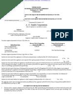 SMITH A O CORP 10-K (Annual Reports) 2009-02-25