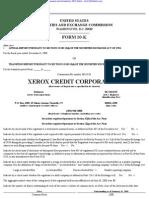 XEROX CREDIT CORP 10-K (Annual Reports) 2009-02-25