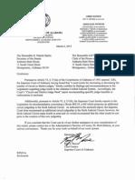 Alabama Judge Reallocation Report