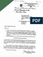 Autorizzazione MIUR - Sottosegretario Rossi Doria