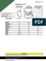 VG Service Data Sheet