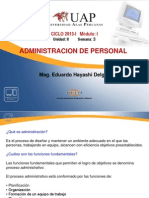 Semana 3 Sub Procesos de La Administracion de Personal