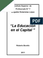 TRABAJO LA EDUCACIÓN EN EL CAPITAL (Roberto Borello).doc