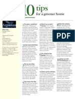 10 Tips for a Greener Home