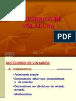 Accesorios de Voladura 2009