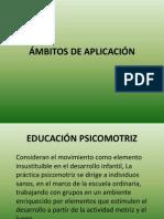 CLASE 2 ÁMBITOS DE APLICACIÓN