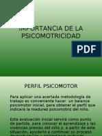 Clase 3 Importancia de La Psicomotricidad