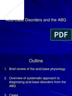 Acid-Base Disorders and the ABG