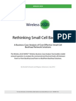 Rethinking Small Cell Back Haul Wp