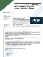 76320101 NBR 11213 NB 1098 Grade de Tomada d Agua Para Instalacao h