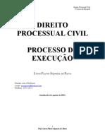 71592495 2011 Apostila Processo de Execucao Prof Lucio Flavio