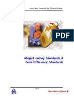 ITC Abap Coding Standards & Code Efficiency Standards