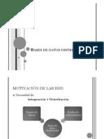 Bases de Datos Distribuidas