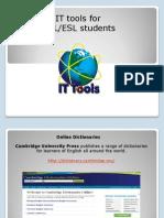 Presentación IT tools for Students