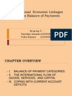 Fix International Economic Linkages and the Balance of Payments 1