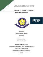 Referat Ilmu Kesehatan Anak Leptospirosis
