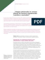 Klaudio Duarte - Privilegios patriarcales en varones jóvenes de sectores empobrecidos