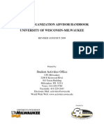 Student Organization HandBook
