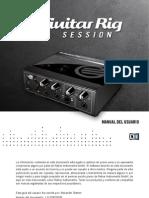 Guitar Rig Session IO Manual Spanish