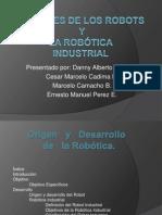 Orígenes de los Robots