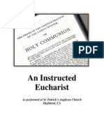 Instructed Eucharist