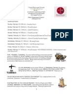 What's Happening At Trinity, February 8, 2013