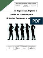 Manual de SHST para grávidas, puérperas e lactantes