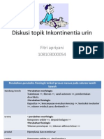 Diskusi Topik Inkontinentia Urin Et Alvi