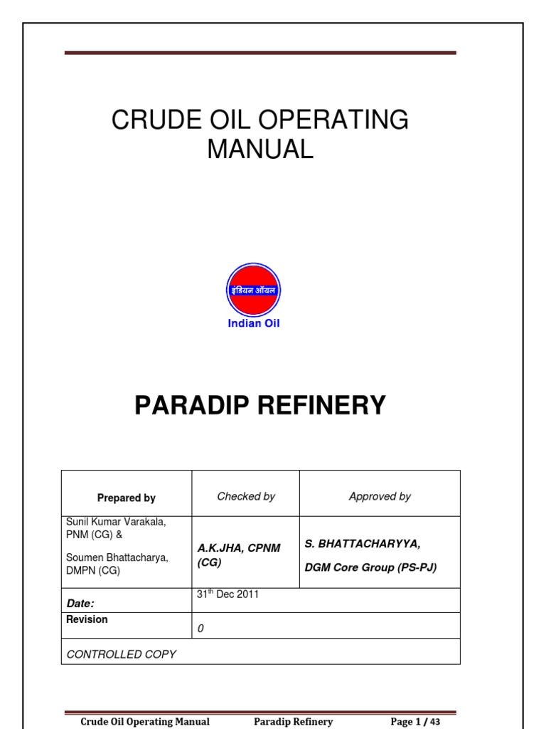 Crude Operation Manual Rev-0.pdf