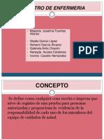 Registro de Enfermeria