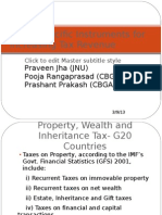 Some Specific Instruments for Increasing Tax Revenue- Dr Jha Ppt