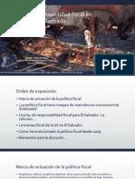 Un ley de responsabilidad fiscal en una economía BCR