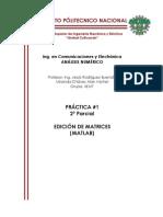 Matrices MATLAB IPN