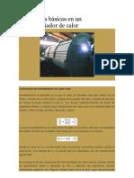 Ecuaciones básicas en un intercambiador de calor.docx