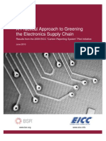 BSR EICC a Practical Approach to Greening the Electronics Supply Chain