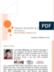 Oracle Analytical Functions
