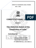 Historical Aspect of the Constitution of India.doc