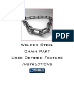 Welded Chain Part UDF