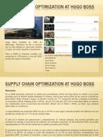 Supply Chain Optimization at Hugo Boss